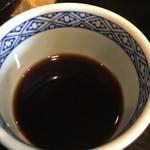 御料理武蔵野 - そばつゆ