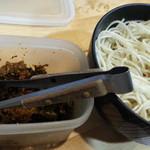 節極 - 無料の替え玉に無料の辛子高菜