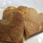 キッチンストーブ - 料理写真:ハートのマーブルクッキー