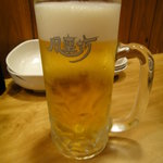 風来坊 - 生ビール