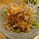 風来坊 - 豚肉の南蛮サラダ