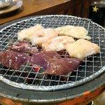 湘南BBQ - シロにレバーはテッパン