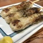 もつ焼きマーちゃん - 鶏つくね150円