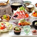 清流山水花 あゆの里 - 料理写真:和食会席料理 3000円(税別) ※イメージ