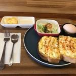 カフェ コティー - 今日は、エッグトーストのモーニングをいただきました(2018.6.30)