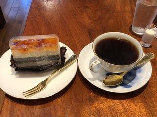 中原珈琲店 - 本日のケーキ&今週のコーヒーで900円