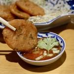 ナムチャイ 岡崎 - 魚のすり身揚げ