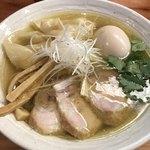 純手打ち 麺と未来 - 特製塩らーめん@980円