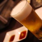 馬肉×ワイン 気まぐれバル 恵比寿 Whim - ビールと焼きタレ