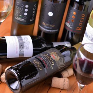 【ワイン好き必見】常時10種以上!2h制ワインバイキング