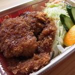 ミートタカハシ - 料理写真:メンチカツ弁当
