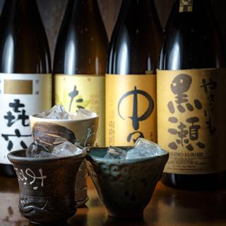 季節ごとに入れ替えるこだわりの日本酒1合750円他