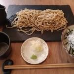 星ノ灯 - もり蕎麦 しらす丼