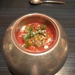 88475558 - トマトの冷たいスープ