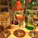 mosh kitchen - グラスワイン3種飲み比べ ¥880