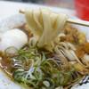 仲屋製麺所 - 料理写真:むじなひもかわ+温玉