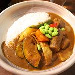 そしがやカレー - チキン野菜カレー(1050円)