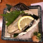 88480238 - うまそうな岩牡蠣です。