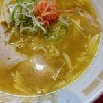 一龍 - にんにくそば(Garlic Noodles) 800円