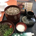 ビストロ&カフェ シャルドネ - 割子蕎麦(680円)_2018年6月