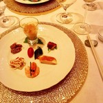 重慶飯店 麻布賓館 - 季節の前菜7種盛り合わせ