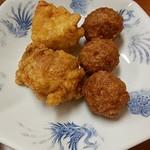 盛京亭 - トリからあげ、肉だんご