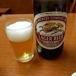 盛京亭 - 瓶ビール 670円(^^♪グビッ