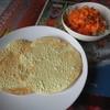 カマル - 料理写真:セットのサラダとサービスのパパド!