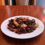 アジアンダイニングバー 大好き日本 - 料理写真:砂肝炒め 辛味バージョン