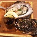大衆ビストロ one's kitchen - 炙り牡蛎