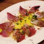 大衆ビストロ one's kitchen - 本日の鮮魚のカルパッチョ(イナダ)