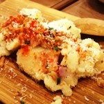 大衆ビストロ one's kitchen - サックサク!!フライドオニオンのポテトサラダ