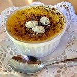 ゆめテラス - 料理写真:黒豆クリームブリュレ