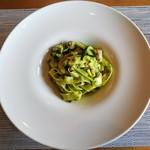 イタリアンキッチン いしかわ - 【パスタ】三河鶏とズッキーニの大葉風味タリアテッレ