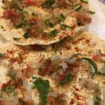 88491744 - 野菜と青唐辛子マサラパパド