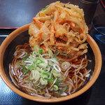 めとろ庵 - 料理写真:かき揚げそば(400円)