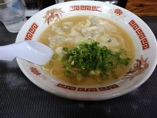 ラーメン将峰 - ワンタン麺