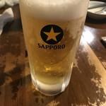 れんげ食堂 - チンカチンカの生ビール