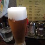 みんなの駒沢屋 - ビール(グラス)350円