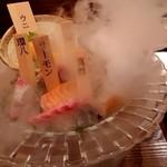 けんしん亭 新福島 - 高級鮮魚入りお刺身盛り合わせ(一人前)♪