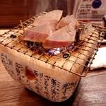 けんしん亭 新福島 - 豪快鰹のわら焼き