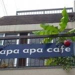 apa apa cafe - お店は2階にあります☆