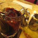 珈琲 シーボン - アイスコーヒー(450円)です。