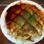 8850166 - そば肉玉(皿)