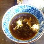 本家熊谷らーめん 梅丸 上之総本店 - つけ麺付け汁