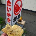 たいやき札幌柳屋 - 餡子がつまってるけどバランス良い