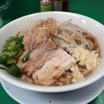 ラーメン つけ麺 熱く勢ろ - 料理写真:ラーメン(並盛)250g