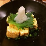 KOYOI 炭火焼と旬菜 - だし巻き卵