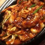 ヨプの王豚塩焼 熟成肉専門店 - たこ炒め