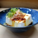 家庭料理 小川 - 冷やっこ